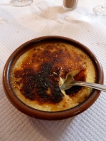 Nothing beats the crack of a good creme brulee.