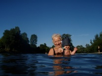 Swim in the cool waters of the Dordogne river