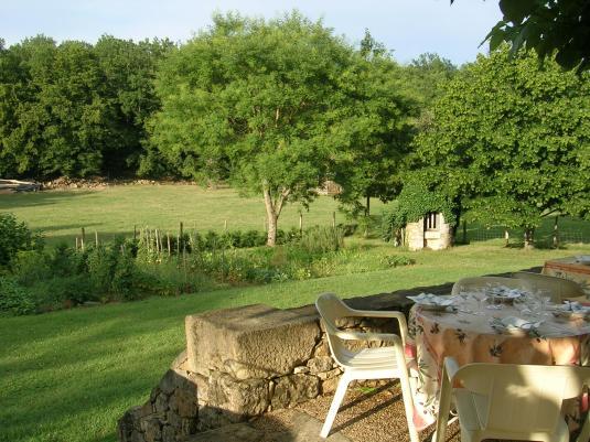 Terrace at Le Roi Carotte
