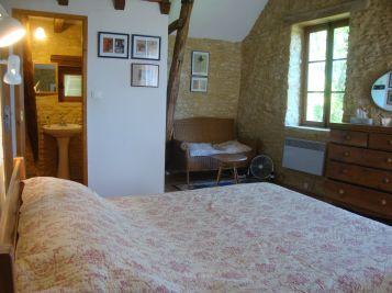 Main bedroom has a 'library corner sofa'